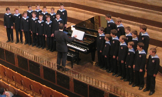 Vienna Boys Choir - via Wikipedia - Author: Andreas Praefcke