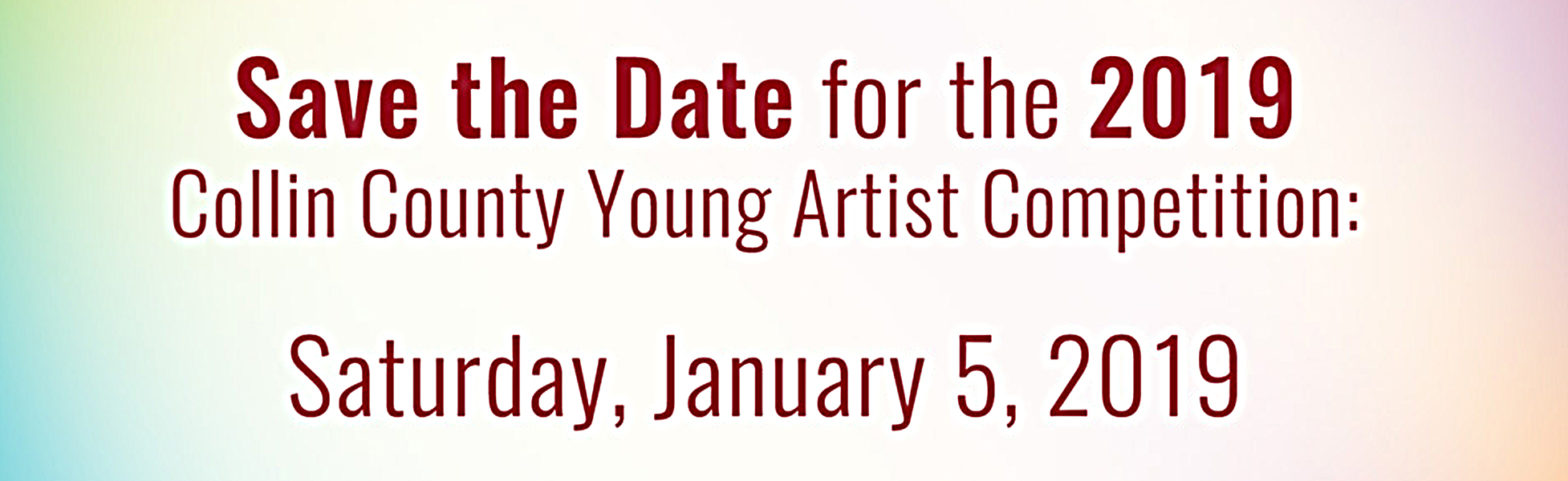 2019_Collin County Young Artist Competition